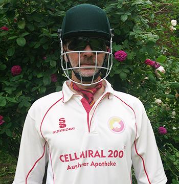 Moritz vom THCC Cricket Hamburg