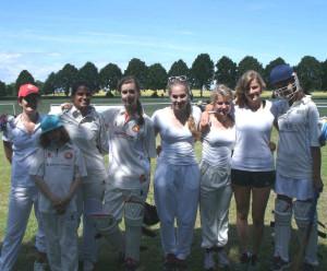 Ladies Cricket beim THCC