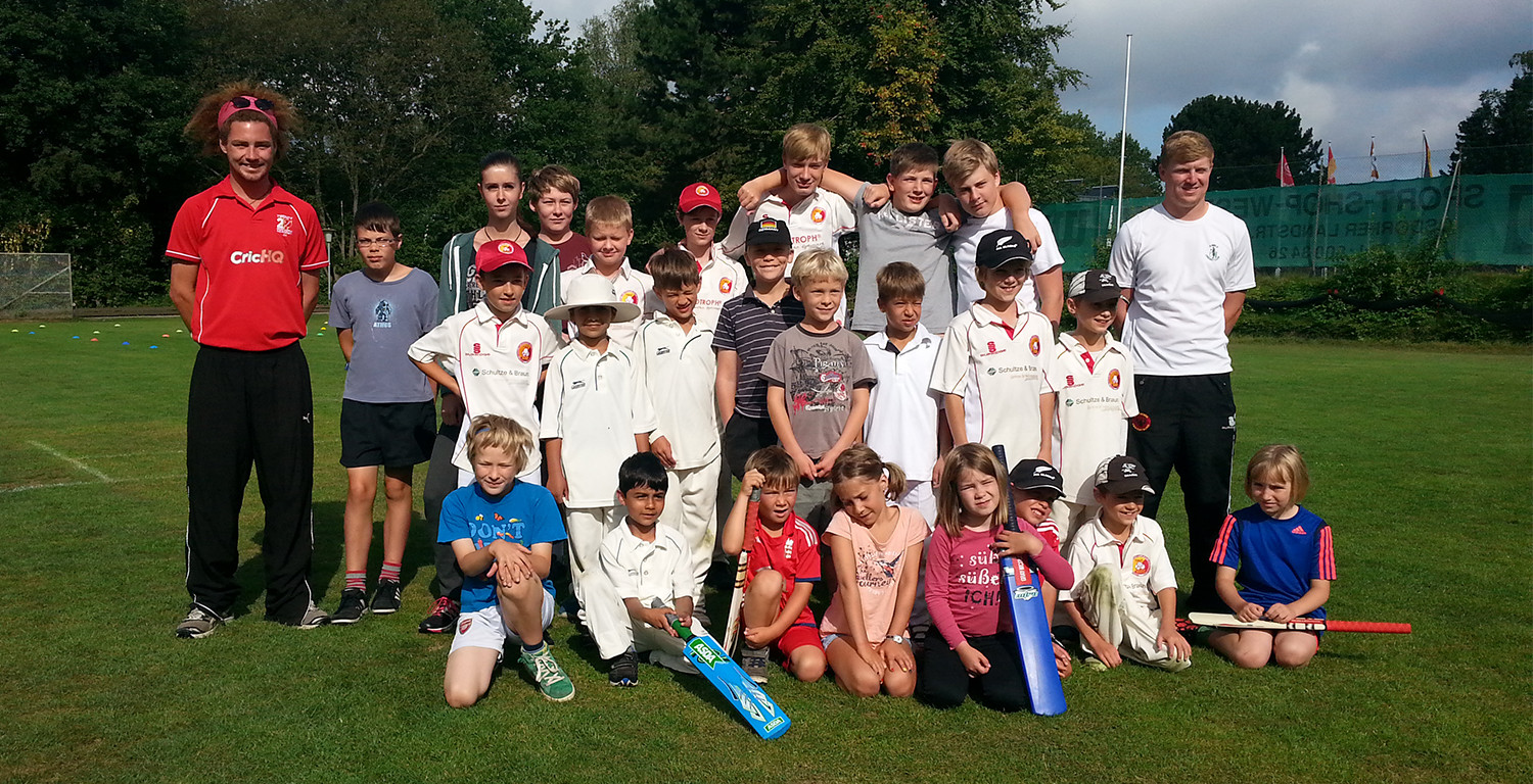 THCC Summer Youth Cricket Camp Hamburg