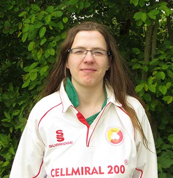 Bianca vom THCC Cricket Hamburg