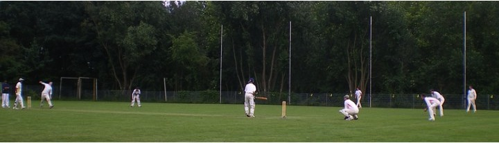 VCC London visiting Hamburg for a cricket match