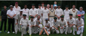 Swansea Law Society cricket team at Hamburg
