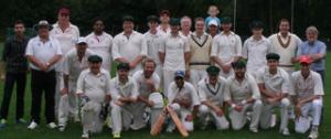 Swansea Law Society cricket team at Hamburg