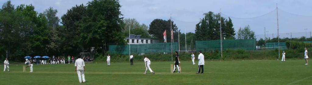Cricket Spiel der THCC Damen in Hamburg