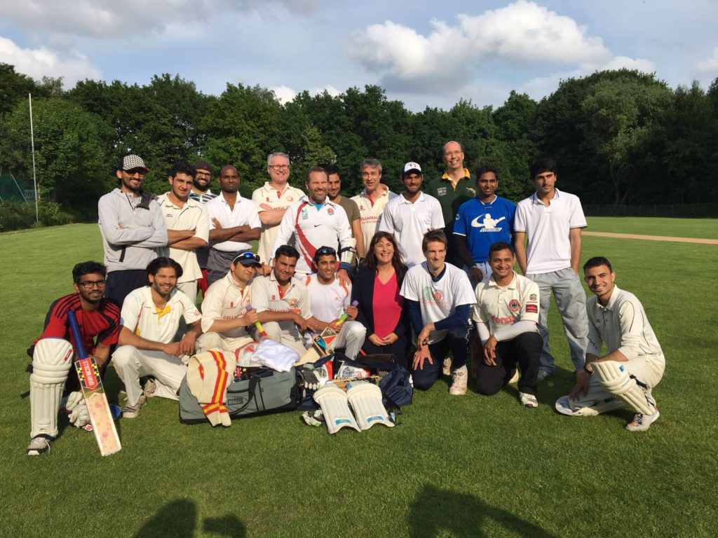 THCC Cricket Hamburg erhält Spende